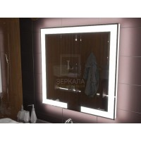Зеркало с подсветкой для ванной комнаты Новара 50х60 см