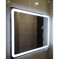 Зеркало для ванной комнаты с LED подсветкой Равенна 50х60